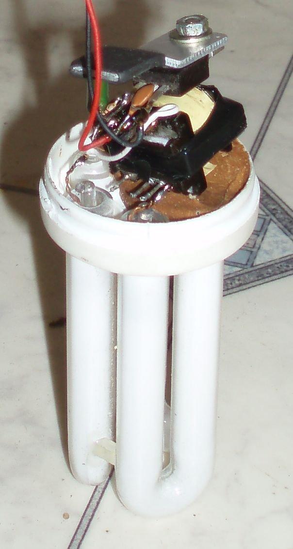 Энергосберегающие лампы. Схема