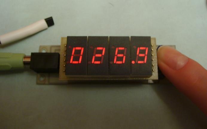 схем цифровых термометров