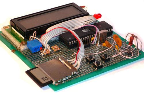 микроконтроллере ATmega32